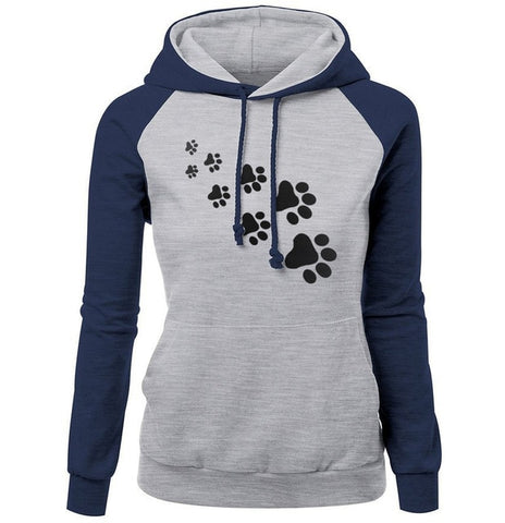 Cat Hoodie With Paws - Fashion Cat Design