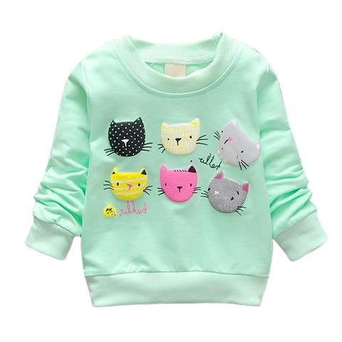 Kitty Cat Sweatshirt - Fashion Cat Design