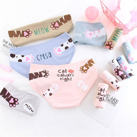 Cat Paws Panties - Fashion Cat Design