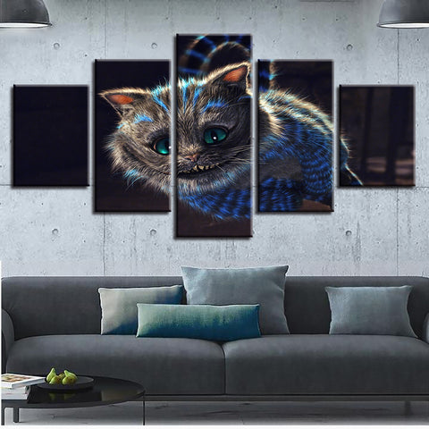Cheshire Cat Painting