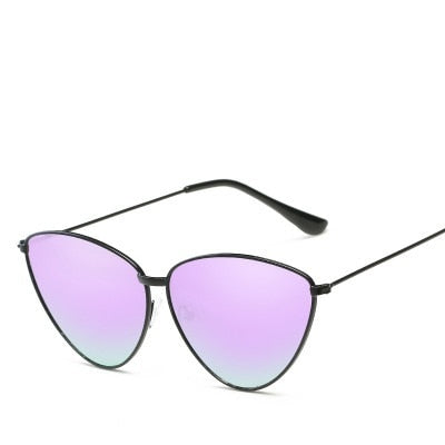 Cat Eyes Mirror Sunglasses