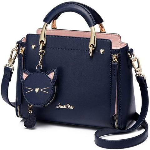 Just Star </br> Cat Purse - Fashion Cat Design