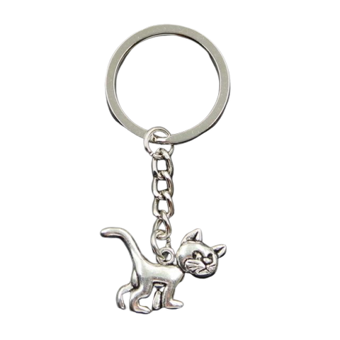 Cat Pendant Keychain - Fashion Cat Design