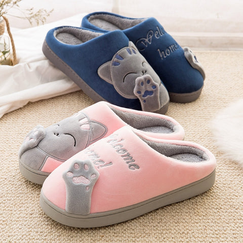 Cat House Slippers - Fashion Cat Design