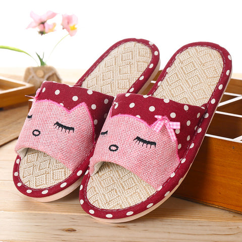 Kitty Cat Slippers - Fashion Cat Design
