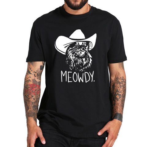 Meowdy Texas Cat T-Shirt