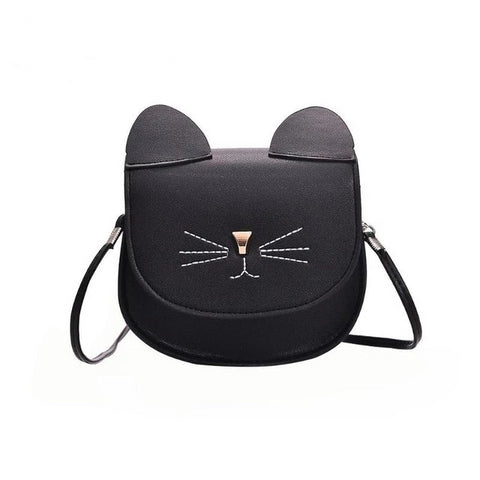 Cat Face & Ear Purse - Fashion Cat Design