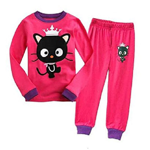 Cat with Crown Pajamas - Fashion Cat Design