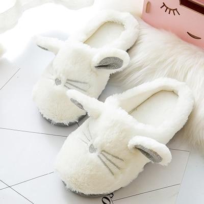Cat Ear Slippers - Fashion Cat Design
