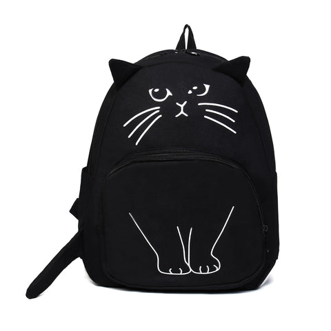 Kawaii Backpack - Fashion Cat Design