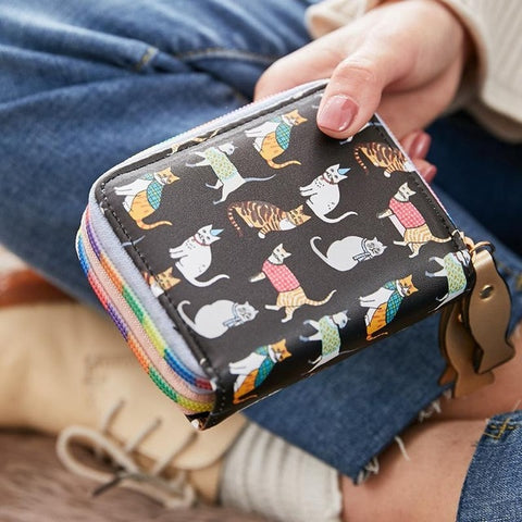 Small </br> Cat Wallet - Fashion Cat Design