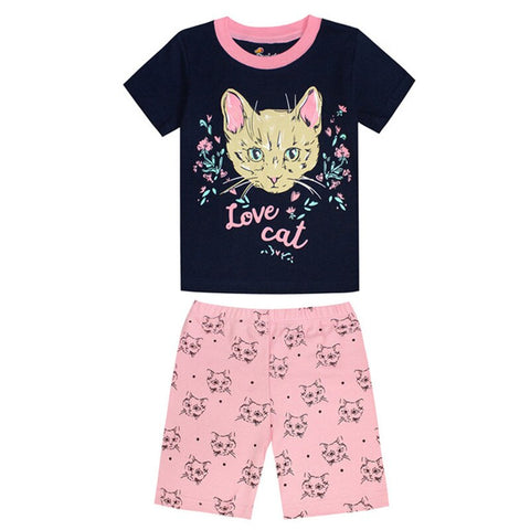 Love Cat Pajamas - Fashion Cat Design