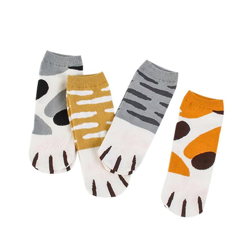 Cat Paw Socks - Fashion Cat Design