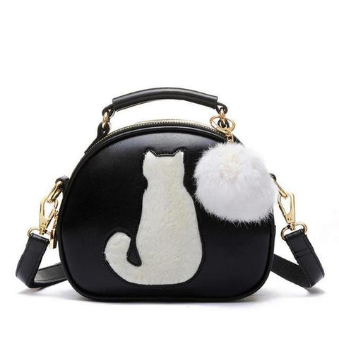 Fur Ball </br> Cat Purse - Fashion Cat Design