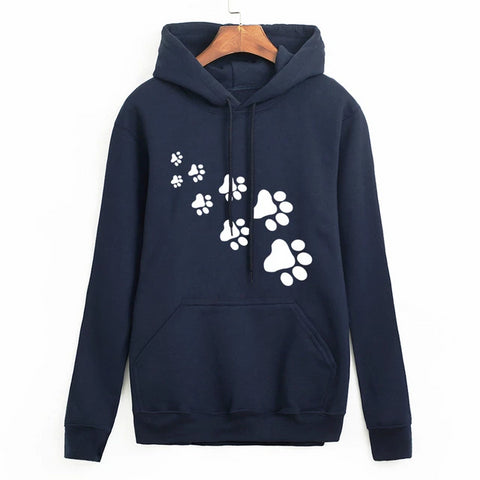 Cat Paw Sweatshirt - Blue