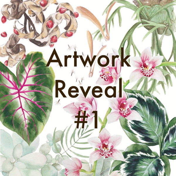 2021 Botanical Calendar Artwork Reveal #1 - OCTOBER!