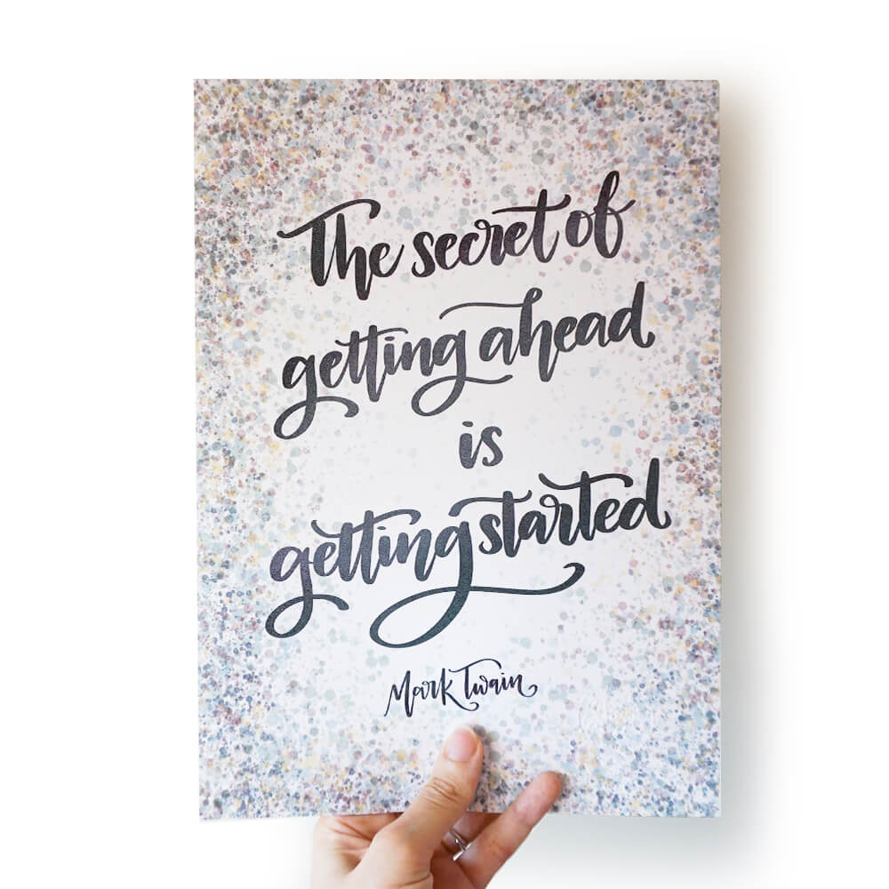 A4 Print | Getting Started - Studio Seck