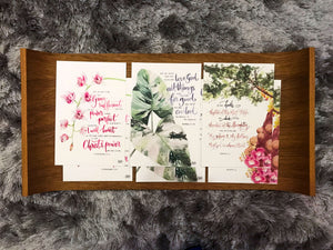 Postcards of COMFORT - Botanical Beauty
