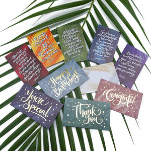 Little Cards (Combi) | Set of 10 - Studio Seck