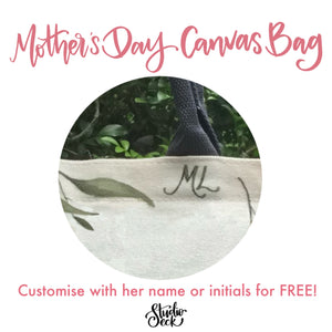 Mother's Day Canvas Bag