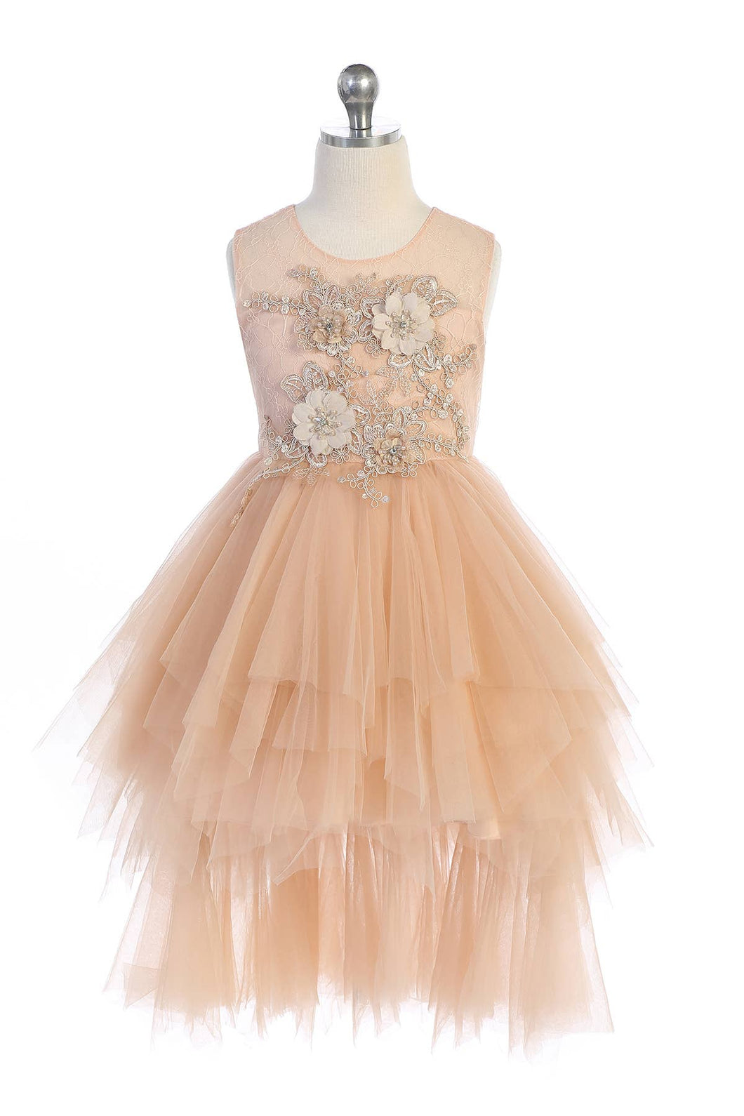 Vintage Rose Tulle Dress