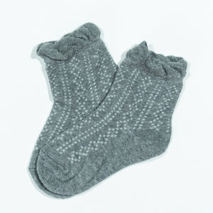 Little Stocking Co. - Gray Anklet Socks