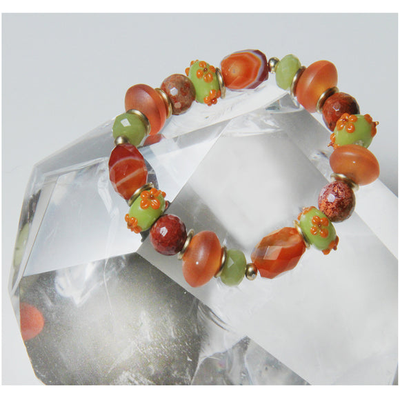 HAPPY TIMES BRACELET FOR SACRAL CHAKRA