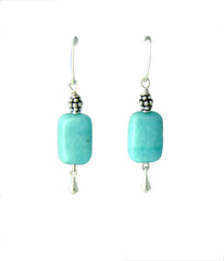 Amazonite Earrings for Throat Chakra