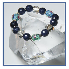 MIDNIGHT STRETCH BRACELET FOR THIRD EYE CHAKRA