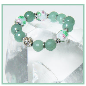 SOFTLY GREEN BRACELET FOR HEART CHAKRA