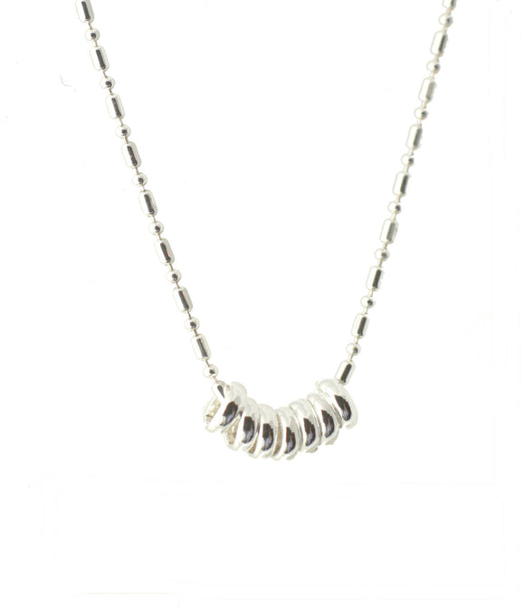 Signature 7 Rings Necklace