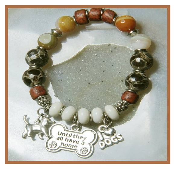 DOG LOVE STRETCH BRACELET