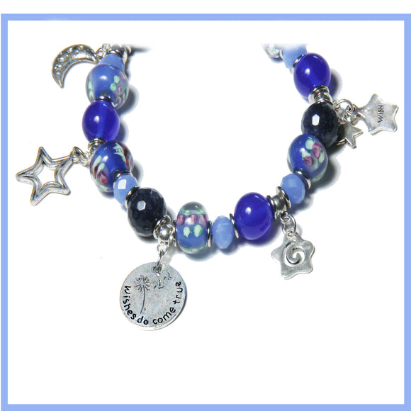 WISHES REALLY DO COME TRUE STRETCH BRACELET