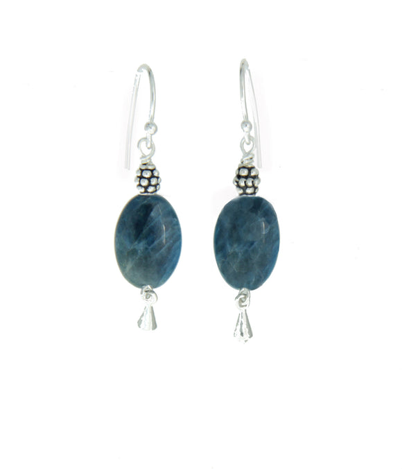 Apatite Earrings for Third Eye Chakra