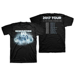 Generation Axe Smoke Tour Tee 2017