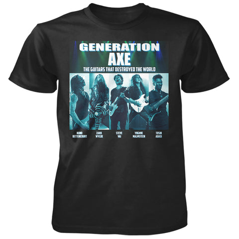Generation Axe Tour Tee