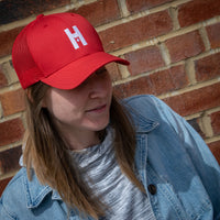 Clock Tower H Trucker Cap