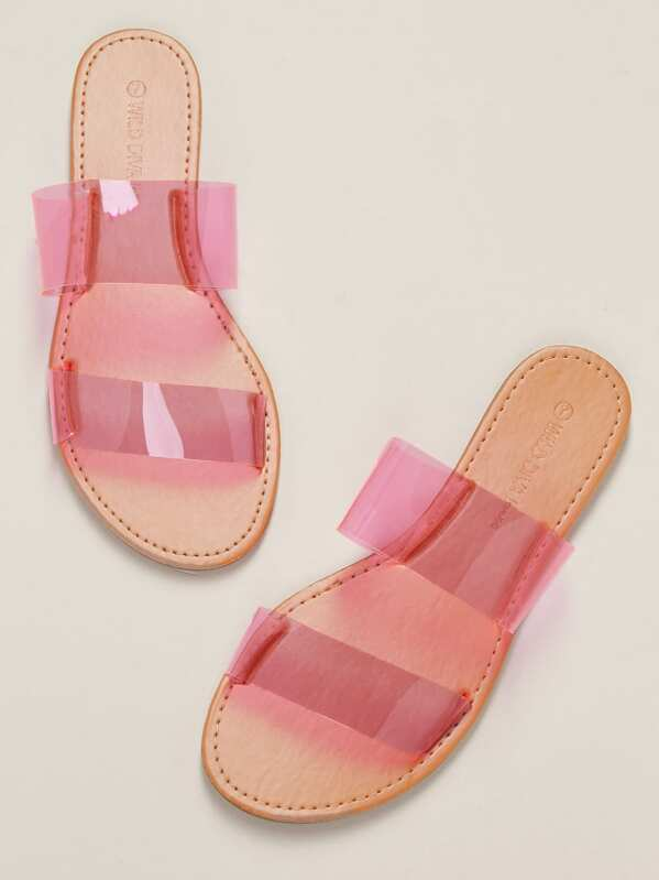 Cassidy Neon Pink Sandals