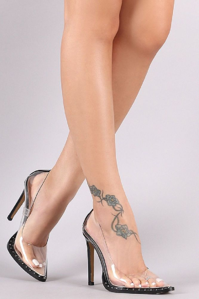 Milano Clear Pumps.