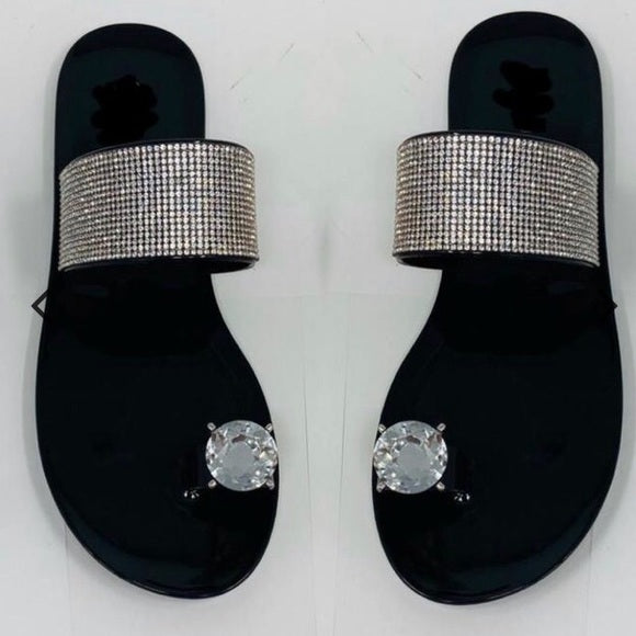 Joselyn Diamond Single Toe Sandals - Atlanta Shoe Studio
