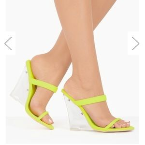 Lena Double Strap Wedges - Atlanta Shoe Studio
