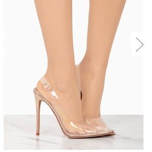 Terry Rose Gold Sling back heels - Atlanta Shoe Studio