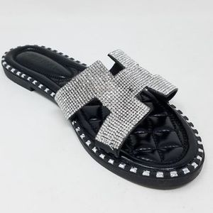 Jada Sandal- Black - Atlanta Shoe Studio