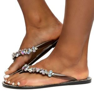 Diana Sandals- Black - Atlanta Shoe Studio