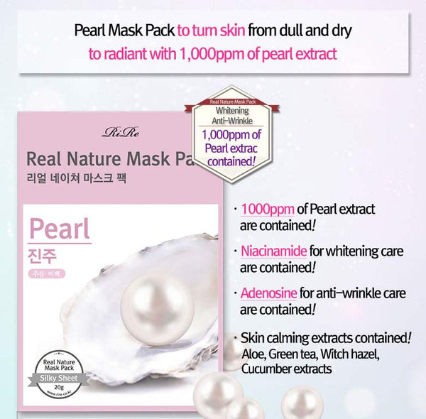 REAL NATURE MASK PACK / MASCARILLA ILUMINADORA