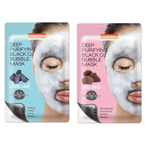 DETOXIFYING BLACK O2 BUBBLE MASK / MASCARILLA DESINTOXICANTE