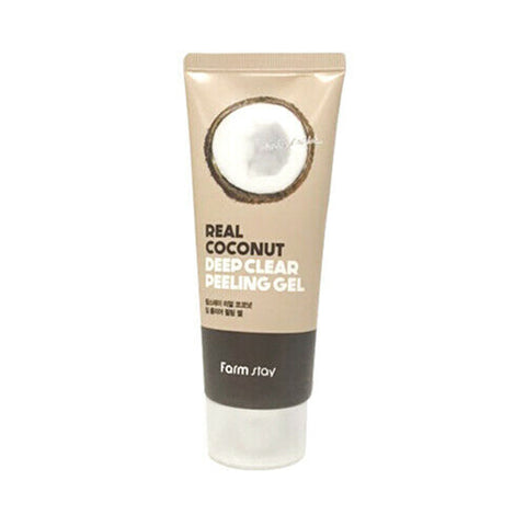REAL DEEP CLEAR COCONUT PEELING GEL / EXFOLIANTE EN GEL DE COCO