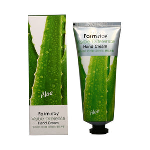 VISIBLE DIFFERENCE ALOE HAND CREAM / CREMA DE MANOS CON ALOE