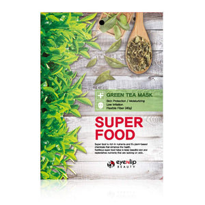 SUPER FOOD GREEN TEA MASK /MASCARILLA DE TE VERDE/ PIEL DELICADA