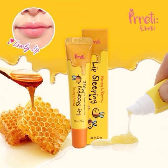 HONEY AND BERRY LIP SLEEPING MASK